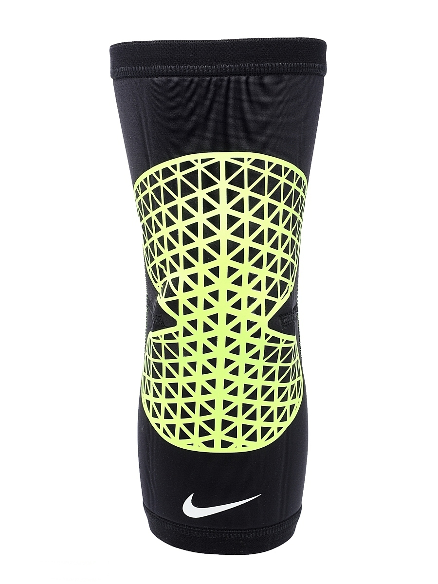 Nike PRO COMBAT KNEE SLEEVE XL BLACKVOLT. Фото N2
