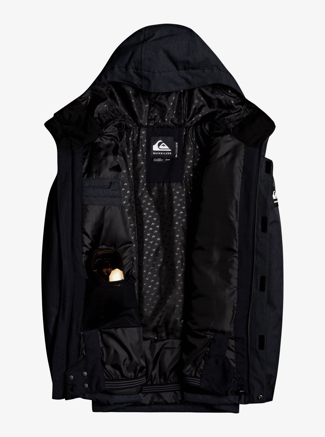 Куртка мужская QUIKSILVER Mission Solid. Фото N2