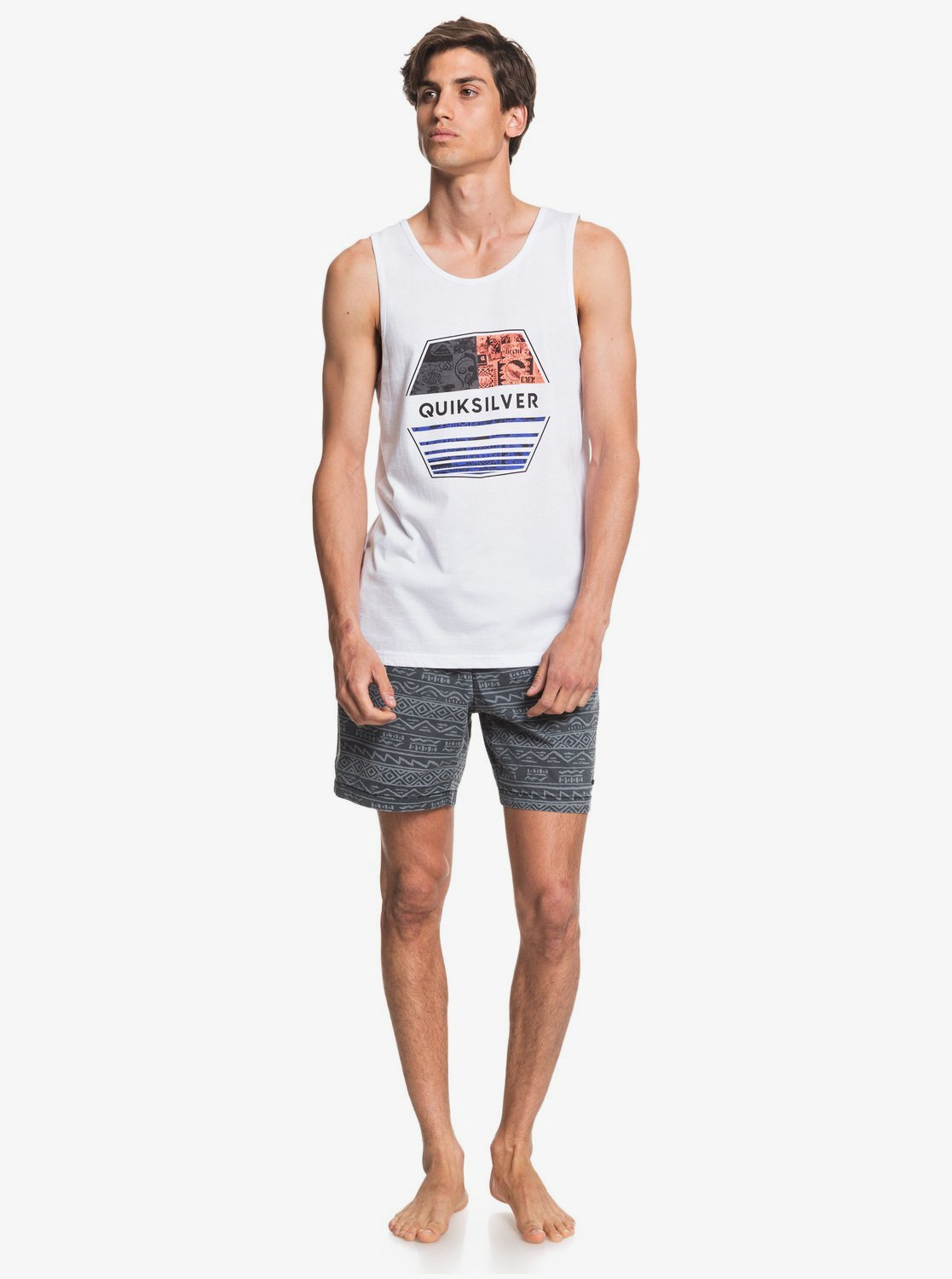 Майка мужская QUIKSILVER DRIFT AWAY White. Фото N3
