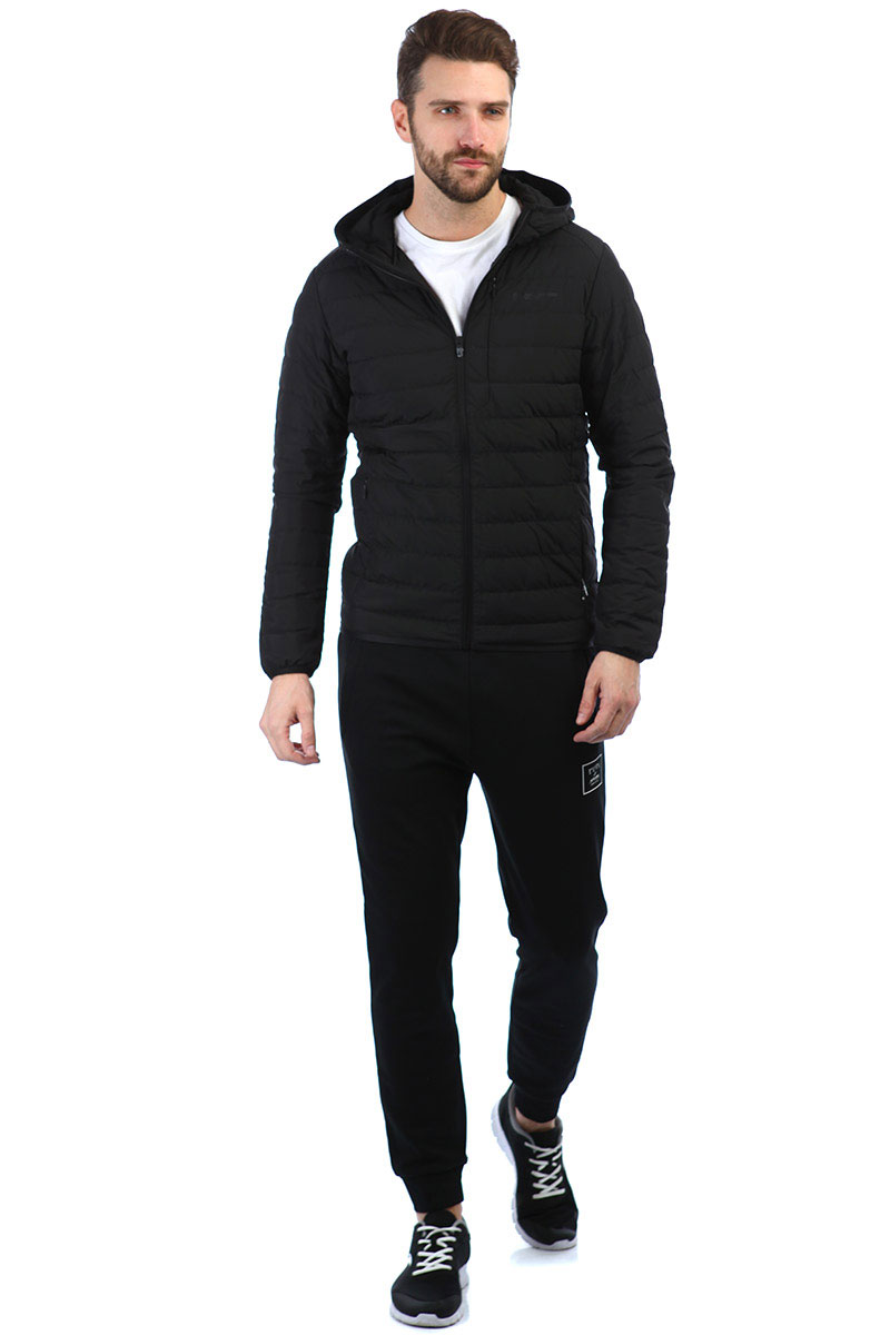 Куртка мужская Anta Urban Outdoor A-Proof Rain Hooded Black. Фото N3