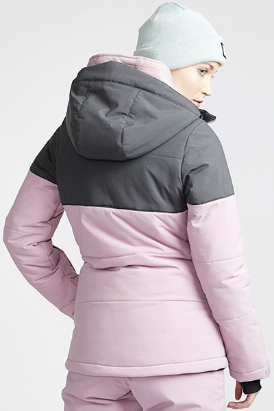 Куртка женская BILLABONG DOWN RIDER Pink. Фото N4