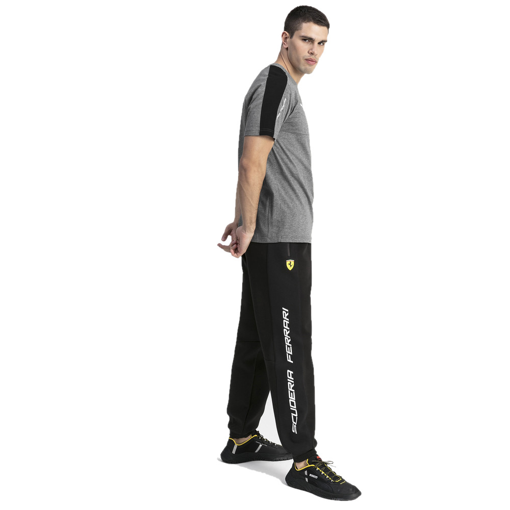 Брюки мужские PUMA FERRARI SF SWEAT PANTS Black. Фото N3
