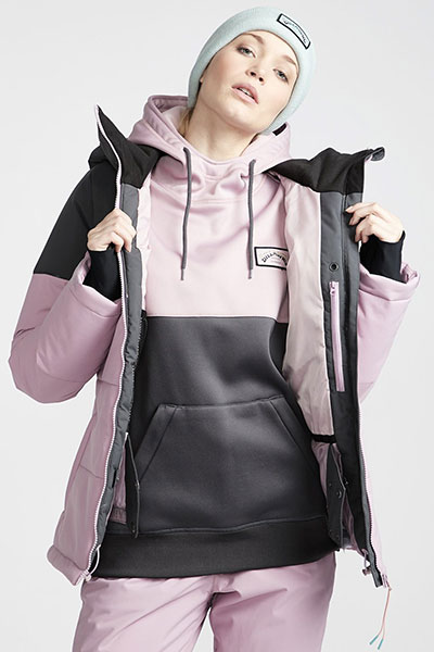 Куртка женская BILLABONG DOWN RIDER Pink. Фото N3