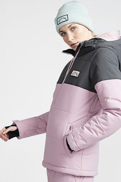 Куртка женская BILLABONG DOWN RIDER Pink. Фото N2