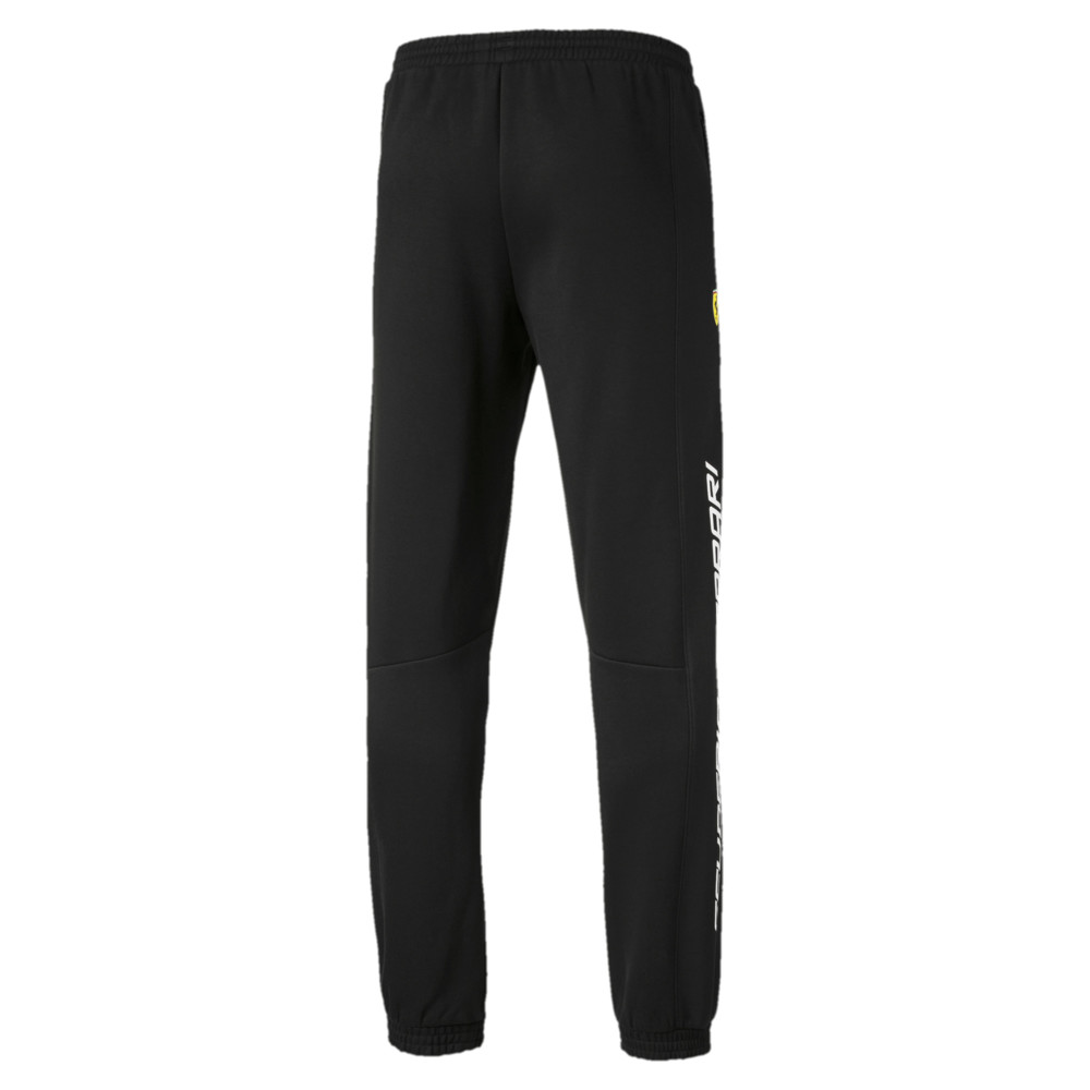 Брюки мужские PUMA FERRARI SF SWEAT PANTS Black. Фото N2