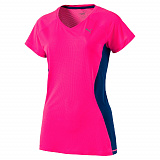 Футболка Puma Core-Run S S Tee W KNOCKOUT PINK-TRUE BL