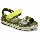 Сандалии детские Crocs Kids Crocband Seasonal Graphic Sandal