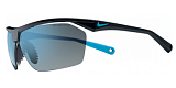 Очки Nike vision Tailwind12 (Grey W Blue Flash Lens)