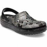 Сабо Crocs Crocband Seasonal Graphic Clog Slate Grey