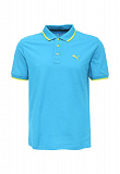 Поло Puma Hero Polo BLUE DANUBE-limepunch