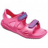 Сандалии детские Crocs Swiftwater River Paradise Pink