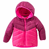 Куртка Puma Infant Padded Jacket Fuchsia Purple-Mage