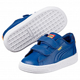 Кроссовки детские Puma Justice League Superman Basket