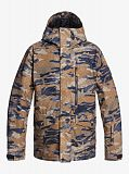 Куртка мужская QUIKSILVER Mission Printed Brown