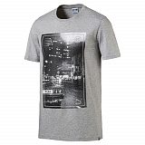 Футболка Puma Brand Photo Tee Medium Gray Heather