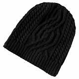 Шапка Puma Mele cable knit beanie Black