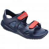 Сандалии детские Crocs Swiftwater River Navy Flame