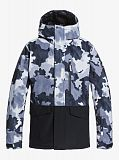 Куртка мужская QUIKSILVER Mission Printed Block Black