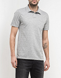 Поло Lee POLKADOT POLO GREY MELE