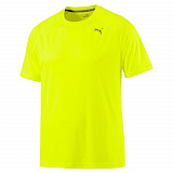 Футболка Puma Core-Run S S Tee Safety Yellow