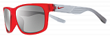 Очки Nike vision Cruiser Team (Ohio) Matte Crystal Team Challenge Red Base Grey (линзы - Grey WSilver Flash Lens)